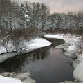 Peaceful River by Gene Lossman