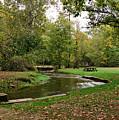 Peaceful Stream by Sandy Keeton