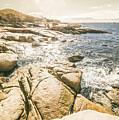 Peaceful Sun Flared Australian Coastline by Jorgo Photography - Wall Art Gallery