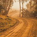 Peaceful Tasmania Country Road by Jorgo Photography - Wall Art Gallery