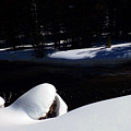 Peaceful Winter Scene by C Sitton