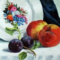 Peaches And Plums by Edward Skallberg