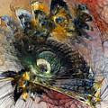 Peacock Fan by Karin Kuhlmann
