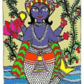 Matsya An Avatar Of Hundi God Vishnu  by Sketchii Studio