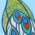 Peacock II by Jennifer Whitworth