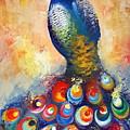 Peacock  by Malgorzata Pieczonka pseud Vangocha