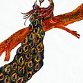 Peacock Xiii by Kruti Shah