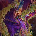 Peacok Dragon by Steve Roberts
