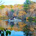 Peak Autumn Reflection 6 by Jeelan Clark