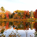 Peak Autumn Reflection 7 by Jeelan Clark