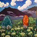 Peaks Abstracted by Nancy Sisco