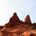 Peaks Of Sedona by Julie Thurgood