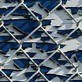 Pealing Paint Fence Abstract 1 by John Brueske