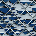 Pealing Paint Fence Abstract 2 by John Brueske