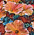 Peanies Flower Blossom by Artful Oasis