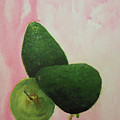 Pear And Avocados by Jane See