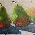 Pear Shadow by Wanda Cox