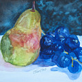 Pearcial To Grapes by Jenny Armitage