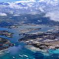 Pearl Harbor Aerial View by Dan McManus
