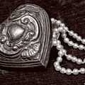 Pearls From The Heart - Sepia by Christopher Holmes
