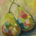 Pears A La Klimt by Ruta Naujokiene
