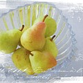 Pears In A Bowl by Alice Gipson