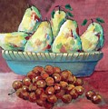 Pears In A Bowl by Anthony D'Abramo