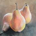 Pears by Leah Dorrian