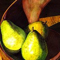 Pears No 1 by Catherine G McElroy