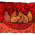 Pears On Fire by Wayne Potrafka
