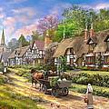 Peasant Village Life by Dominic Davison