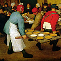 Peasant Wedding by Pieter the Elder Bruegel