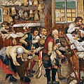 Peasants Paying Tithes By Pieter Bruegel I by Pieter Bruegel I