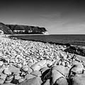 Pebble Beach At Flamborough. by Steve Whitham