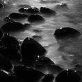 Pebble Beach By Moonlight by Larry Ricker