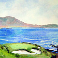 Pebble Beach Gc 7th Hole by Scott Mulholland