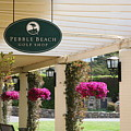 Pebble Beach Golf Shop  by Chuck Kuhn
