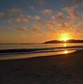 Pebble Beach Sunset by Brian Stauffer