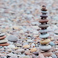 Pebble Stack II by Helen Northcott