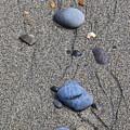 Pebbles Of Blue by Rick  Monyahan