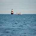 Peck Ledge Lighthouse by Karol Livote