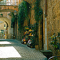 Pedestrian Walkway, Orvieto, Umbria by Panoramic Images