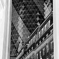 Peekaboo Gherkin London  by Toula Mavridou-Messer