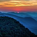 Peeking Over Blue Ridges Pretty Place Chapel Overlook Art by Reid Callaway