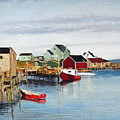 Peggy's Cove by Donald Hofer