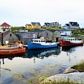 Peggy's Cove Harbour by Cristina Stefan