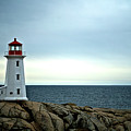 Peggy's Cove Lighthouse - Photographers Collection by Andre Distel