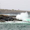 Peggys Cove Lighthouse 6127 by Jack Schultz