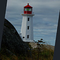 Peggys Cove Lighthouse by Al Bourassa