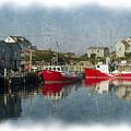 Peggys Cove Marina by Dan Friend